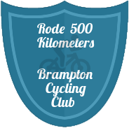 500 KM badge