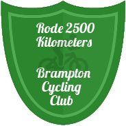2500 KM badge