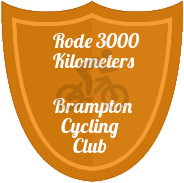 3000 KM badge