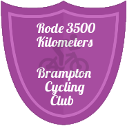 3500 KM badge