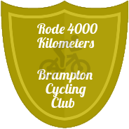 4000 KM badge