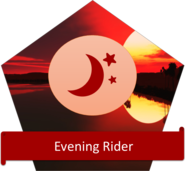 evening badge
