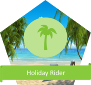 holiday badge