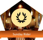 sunday badge